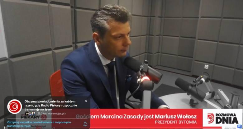"""Mariusz Wołosz o LGBT: """"Bytom jest otwarty na wszystkich mieszkańców. Jestem rozczarowany radnymi, którzy przyjęli petycję"""""""