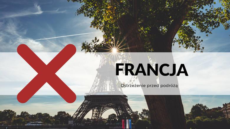 FRANCJA / Ostrzeżenie przed podróżąNa całym terytorium Francji obowiązuje 2 poziom zagrożenia terrorystycznego. Na francuskich przejściach granicznych