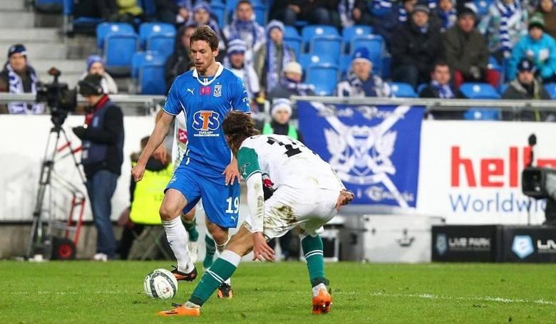 Lech Poznań - Śląsk Wrocław 2:1 - 16 lutego 2014Bramki dla Lecha: Kasper Hamalainen (12), Łukasz Teodorczyk (70).