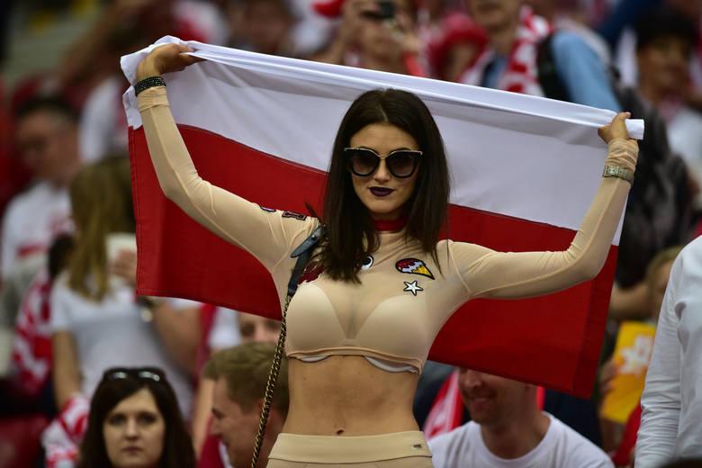 Kibice na meczu Polska - Rumunia [ZDJĘCIA]