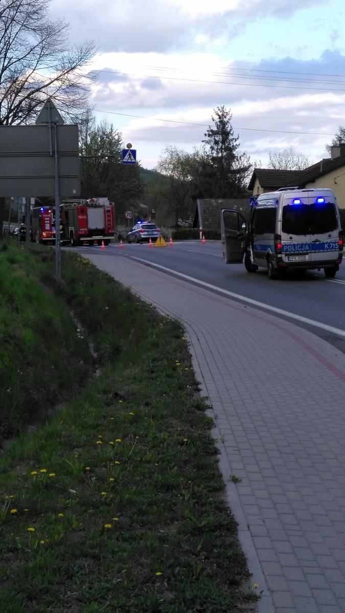 W środę po 18.30 w Babicy samochód osobowy śmiertelnie potrącił starszego mężczynę jadącego na rowerze. Droga całkowicie zablokowana. Objazd dla samochodów
