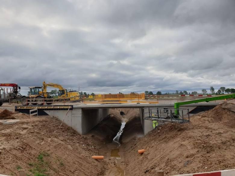 Budowa S61 na odcinku Wysokie-Raczki