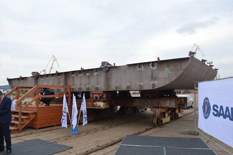 Nauta i Stocznia Wojenna budują okręt dla Marynarki Wojennej Szwecji