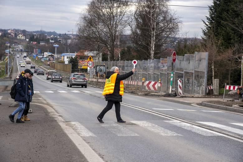 Obecna sytuacja na skrzyżowaniu DK 94 z ul. Reformacką