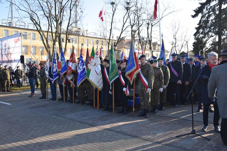 W programie wojewódzkich uroczystości związanych z 100 rocznicą wyzwolenia Golubia oraz powrotu Pomorza i Kujaw do Polski był Marsz dla Niepodległej