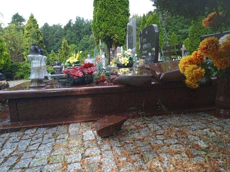 Grób rodziców Mariusza Michalskiego został zniszczony. Teraz rodzina szuka sprawcy