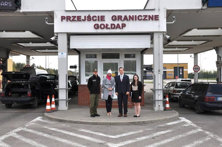Urządzenie trafi do Placówki Straży Granicznej w Bezledach i wspomoże funkcjonariuszy SG w codziennej służbie na drogowym przejściu.