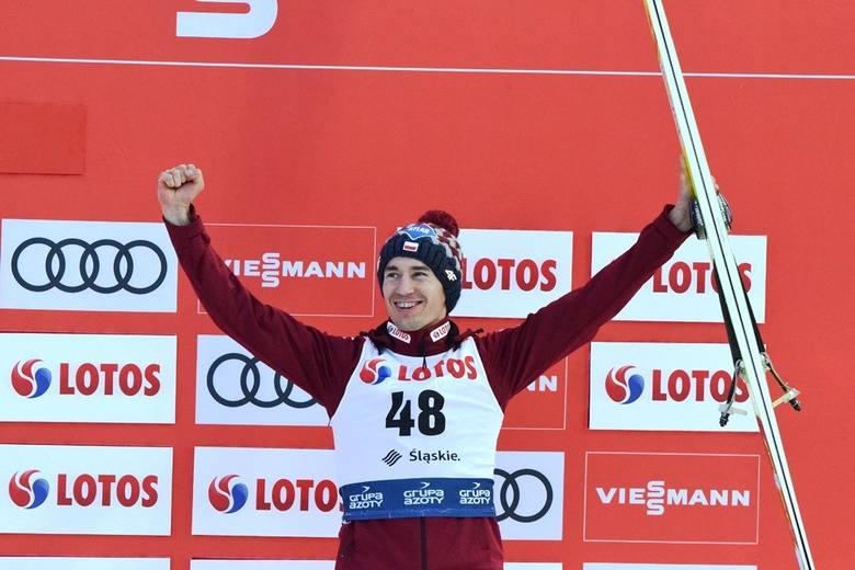 Kamil Stoch zajął 3. miejsce w konkursie indywidualnym w Wiśle