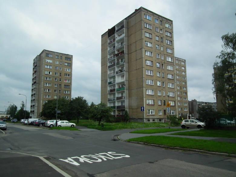 Dużo mieszkań policyjnych znajduje się na poznańskiej Komandorii - przy ulicach Małachowskiego, Łakarza czy Św. Michała.