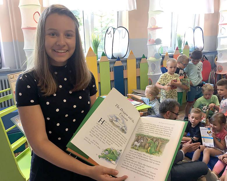 Łódzkie przedszkolaki będą czytać anglojęzyczne bajki [GALERIA/FILM]