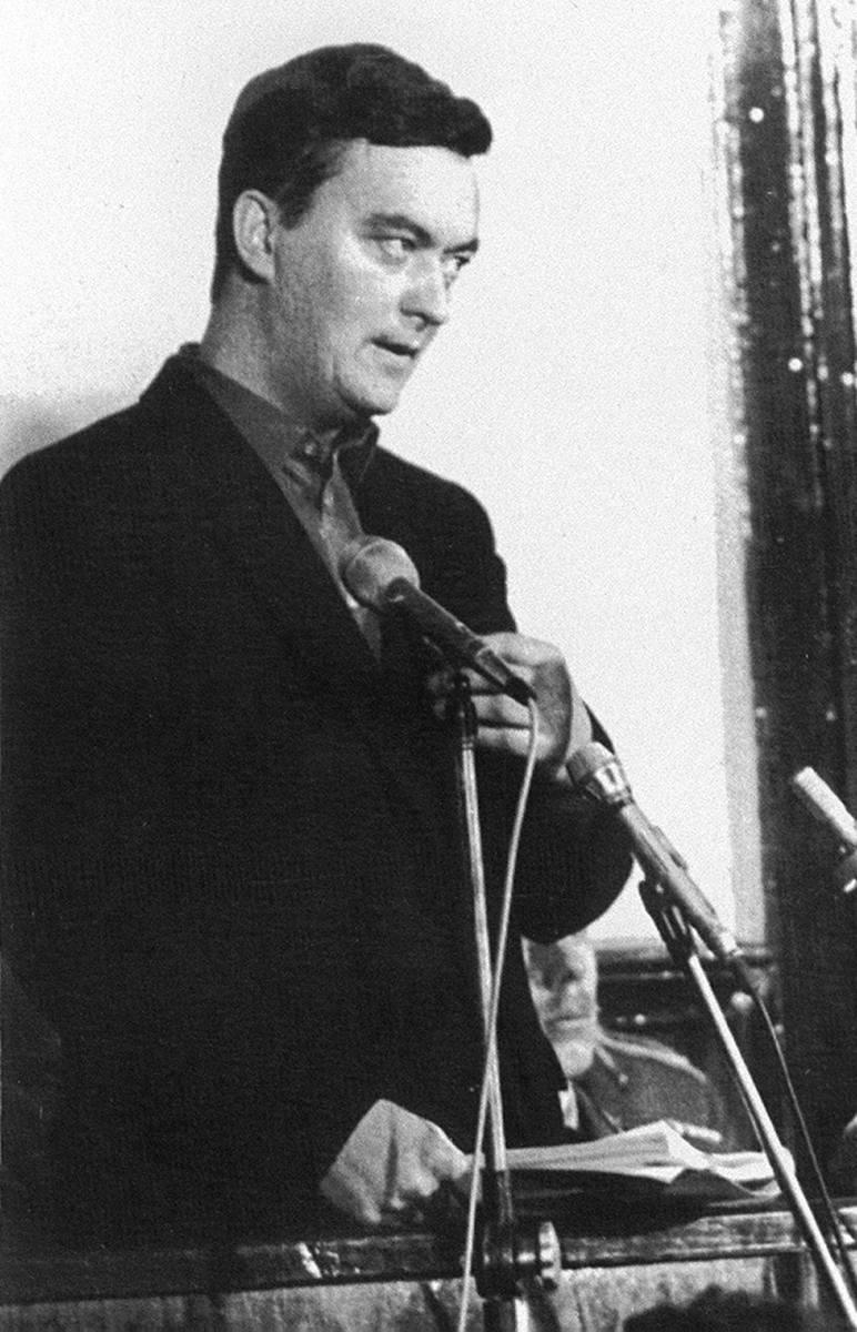 Ksiądz Jerzy Popiełuszko. Zdjęcie z pogrzebu