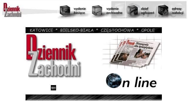 Dziennikzachodni.pl w latach 1996-1997