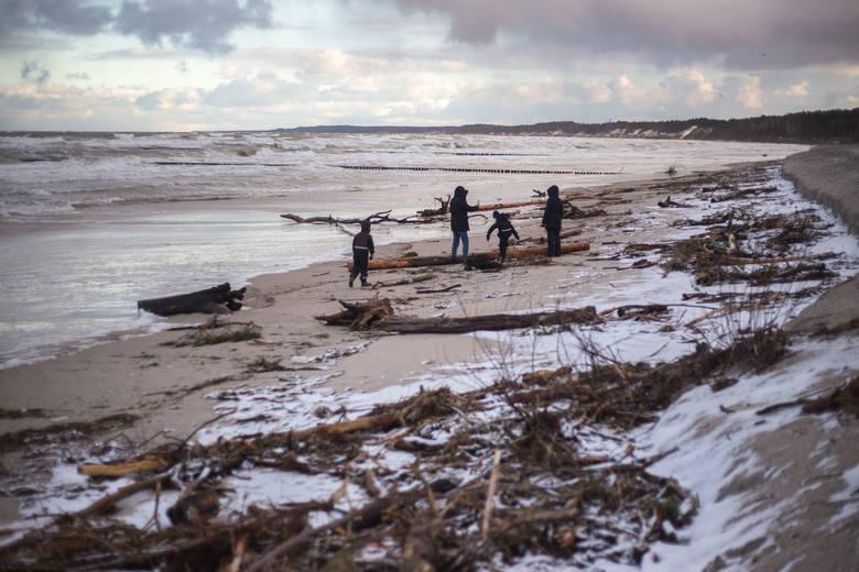 Sztorm na Pomorzu spowodował ogromne straty