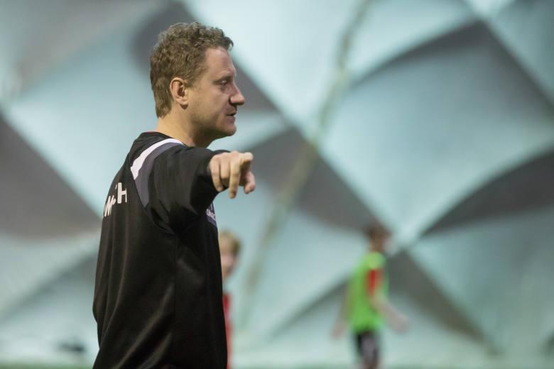 Bartosz Podlewski - trener grupy z rocznika 2010