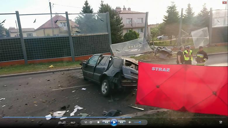 Kadr z filmu nadesłanego przez Czytelnika.