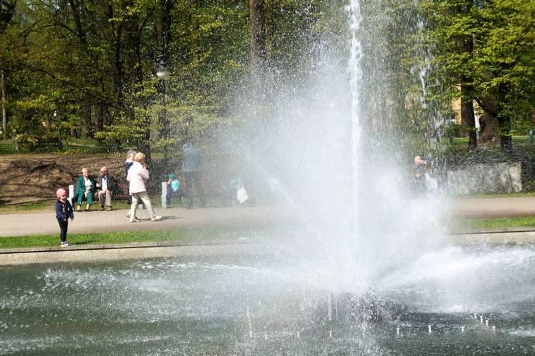Zobacz, jak działają białostockie fontanny (zdjęcia, wideo)