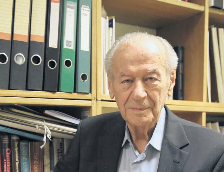 Prof. Chorąży wierzył, że raka uda się pokonać. Teraz już wierzy w to mniej