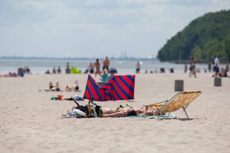 Temperatura wody w Gdyni wynosi 21,7 °C