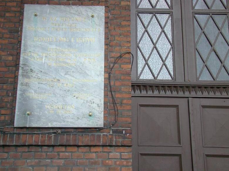 Tablica na liceum w Oświęcimiu poświęcona Ignacemu Fikowi powinna zostać usunięta