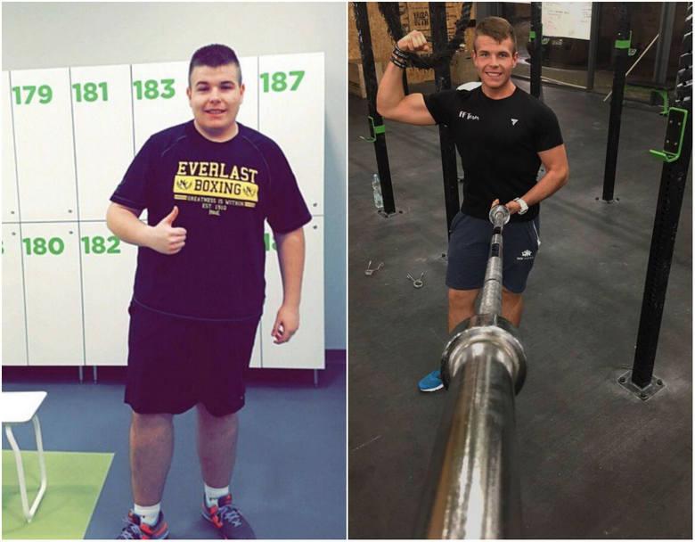 Był grubaskiem, teraz jest przystojniakiem! Dawid zrzucił 57 kilogramów w 9 miesięcy!