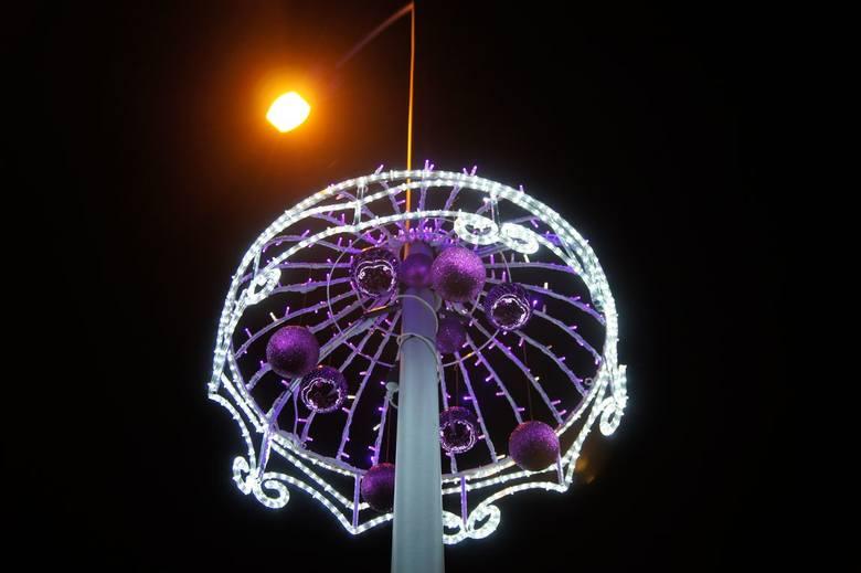 Dekoracje świąteczne w Nowej Soli
