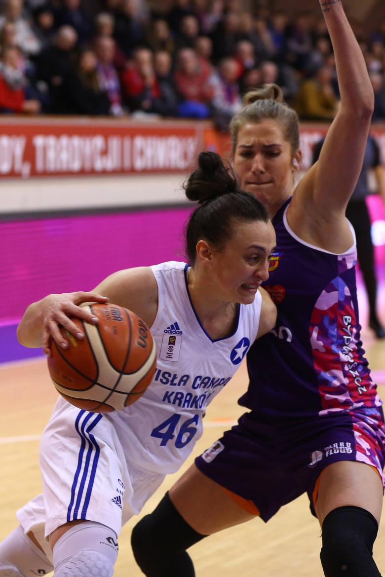 Nowe zagraniczne koszykarki Artego Bydgoszcz, od lewej: Tamara Radocaj, Ziomara Morrison i Monica Engelman.