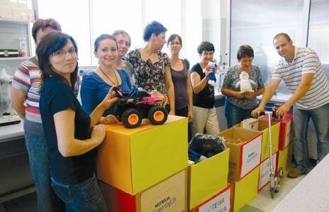 Pracownicy Nutricia chętnie angażują się w akcje na rzecz lokalnej społeczności.