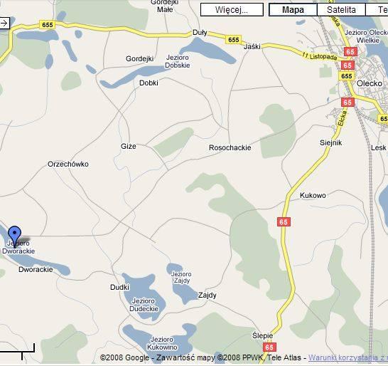 Samolot lecący z Turośni Kościelnej do Olsztyna miał spaść do jeziora Dworackiego w pobliżu Olecka. Policja poszukuje załogi samolotu