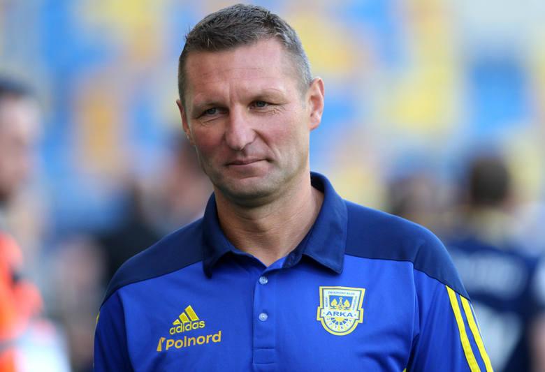 """Grzegorz Niciński, trener Arki Gdynia: Gol Nalepy dał nam """"tlen"""""""