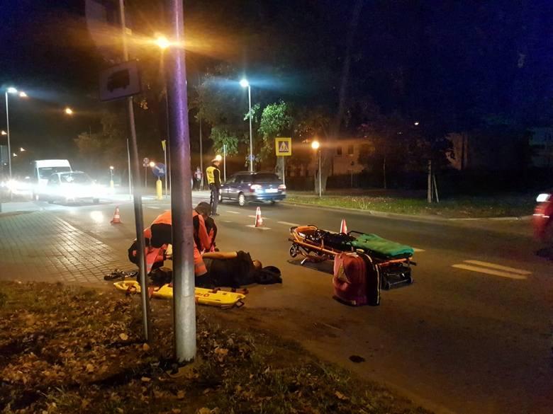 Szalał na skuterze na ul. Botanicznej w Zielonej GórzeSezon motocyklowy wkrótce się zakończy, jednak niektórzy użytkownicy jednośladów chcąc jeszcze