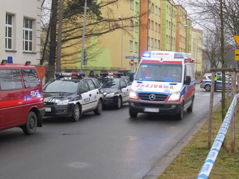 Wyciek chloru w białogardzkim szpitalu. Trwa akcja ratunkowa