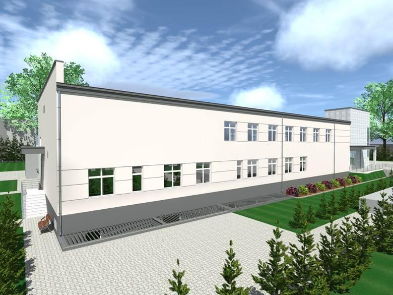 W szpitalu w Pionkach powstanie nowy pawilon zabiegowy w szpitalu. Jest wizualizacja!