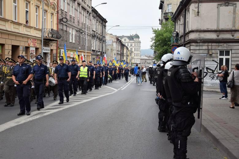Do ochrony procesji policja zmobilizowała ogromne siły. Dzięki temu było bezpiecznie, odbyło się bez incydentów.