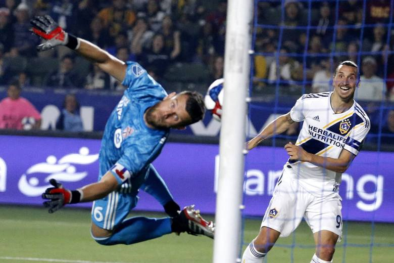 Zlatan Ibrahimović zdobył 30 bramek w ostatnim sezonie amerykańskiej MLS