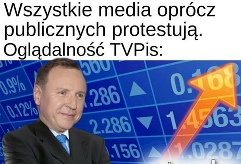 Media bez wyboru - wspólnie protestują przeciw podatkowi od reklam. Co na to internauci? Zobacz kolejne memy. Przesuwaj zdjęcia w prawo - naciśnij strzałkę