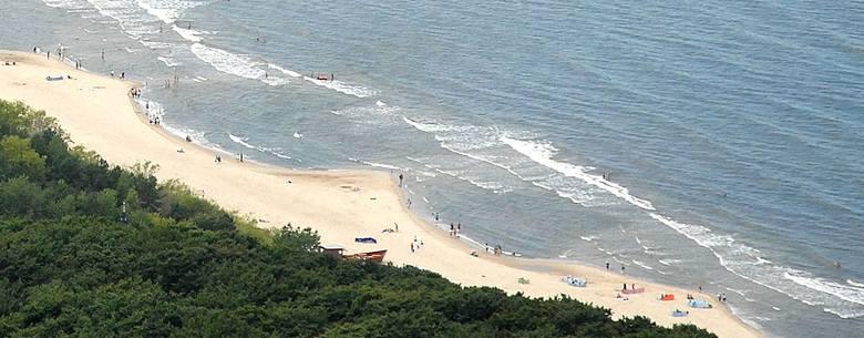 Międzywodzie. W morzu prawdopodobnie utonął turysta, cudem uratowała się jego córka