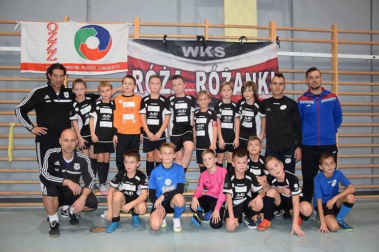 Maciej Murawski poprowadził trening z Orlikami Róży Różanki. To właśnie ten zespół wygrał w plebiscycie Gazety Lubuskiej.
