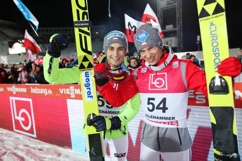 Kamil Stoch i Maciej Kot w Lillehammer