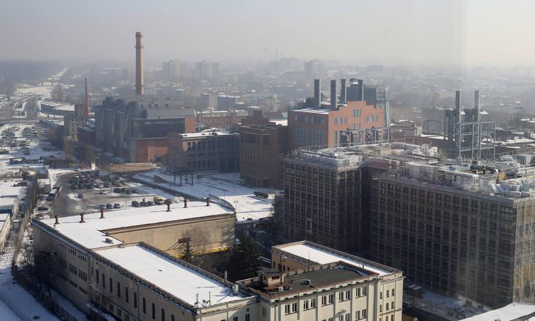 Smog nad Łodzią