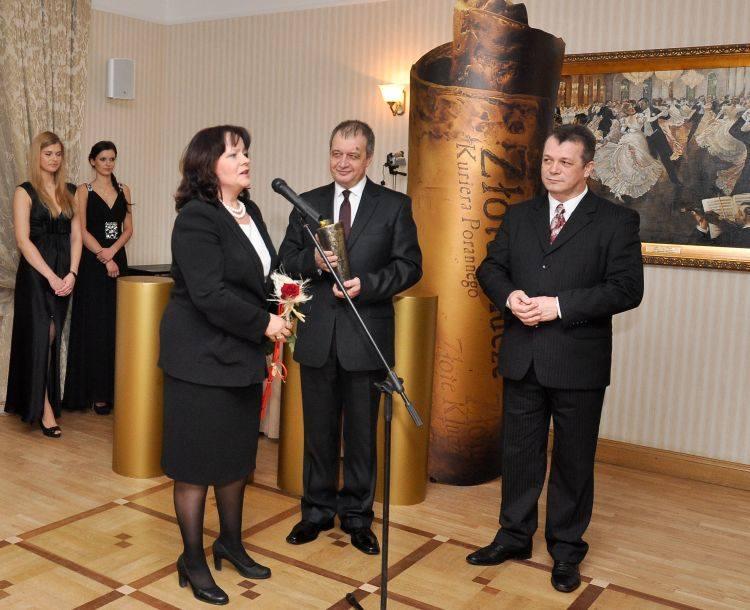 Prof. Barbara Kudrycka zdobyła Złote Klucze w kategorii Człowiek Roku