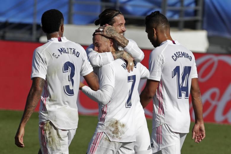 Real Madryt wygrywa w hicie La Liga. Błąd bramkarza przesądził o wyniku