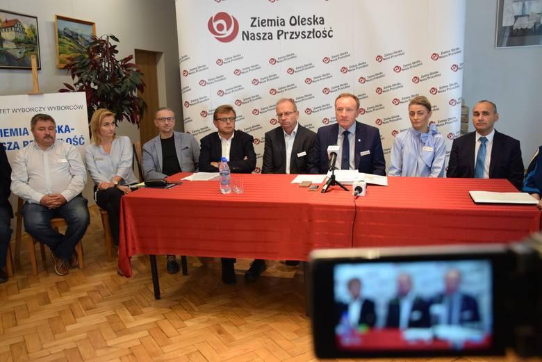 Konferencja wyborcza komitetu Ziemia Oleska.