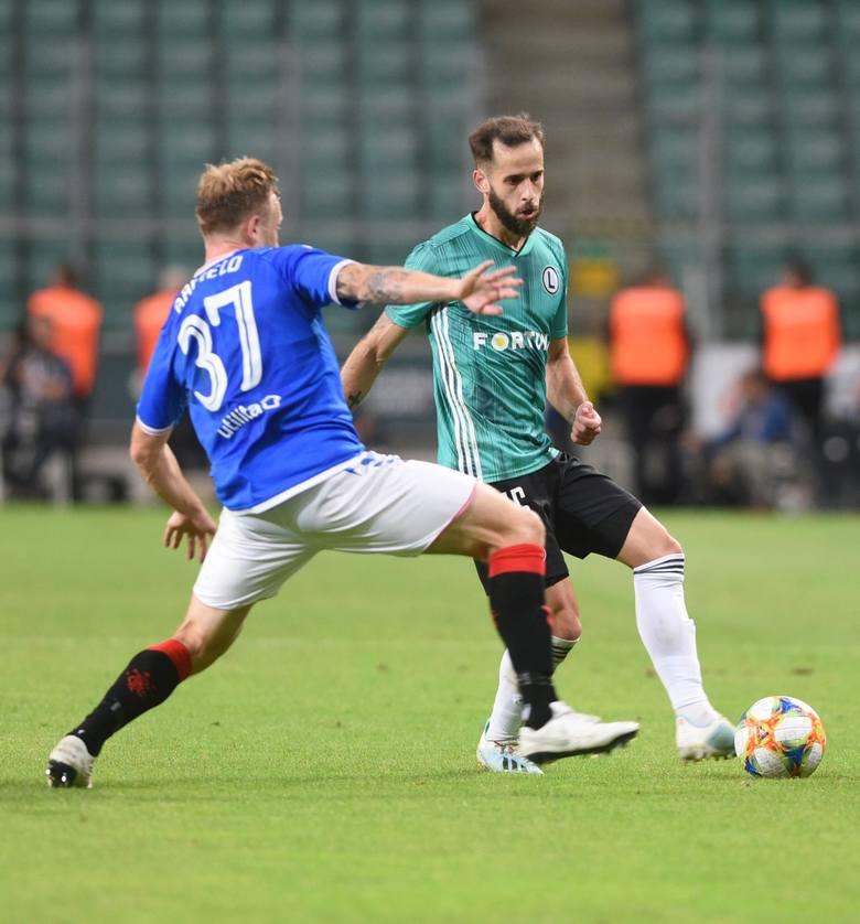 Legia nie traci bramek w PKO Ekstraklasie, nie traci też w eliminacjach Ligi Europy. W sumie już szósty mecz z rzędu, a trzeci w takim samym zestawieniu,