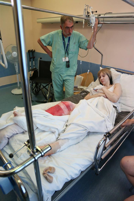Przed amputacją nogi ocalił ją wrocławski lekarz