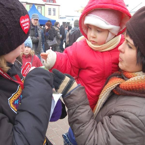 Pani Małgorzata wraz z córką Paulinką.