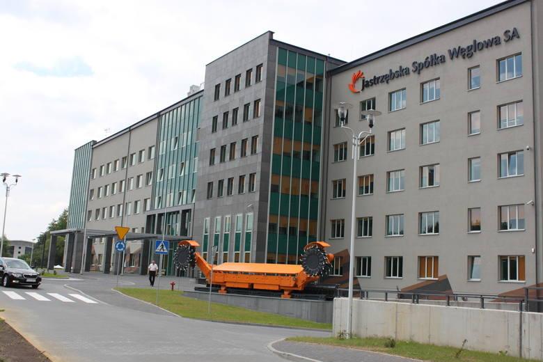 Jastrzębska Spółka Węglowa: katowiccy prokuratorzy i agenci Centralnego Biura Śledczego w siedzibie spółki
