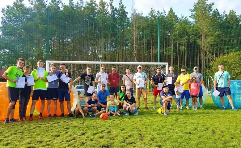 Gmina Lelis. Turniej bubble football w Kurpiewskich Nowych. 4.08.2019 [ZDJĘCIA]