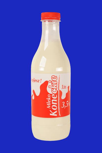 Nasze Dobre Świętokrzyskie 2015. Prezentacja produktów i usług Mleka koneckie Spółdzielnia Mleczarska z Końskich słynie ze znakomitej jakości mleka.