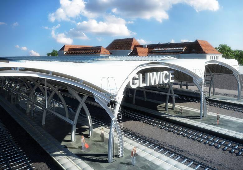 Gliwice, dworzec PKP. Modernizacja. PKP musi się spieszyć, aby zdążyć rozliczyć się z unijnych pieniędzy do końca 2015 roku, więc w tym czasie dworzec