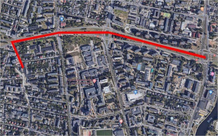Z kolei druga (Chodkiewicza - Rondo Fordońskie) stworzy alternatywne połączenie centrum Bydgoszczy z Rondem Fordońskim przez osiedle Bielawy i Barto